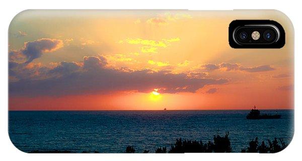 Bahamas Sunset IPhone Case