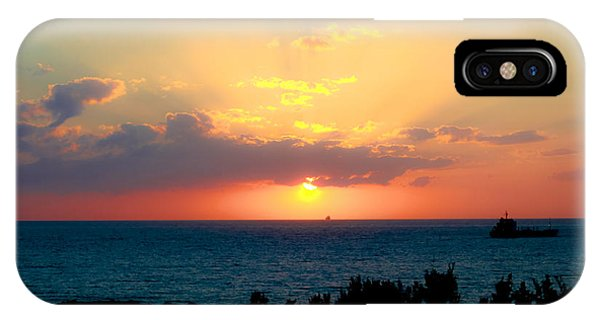 Bahamas Sunset IPhone Case