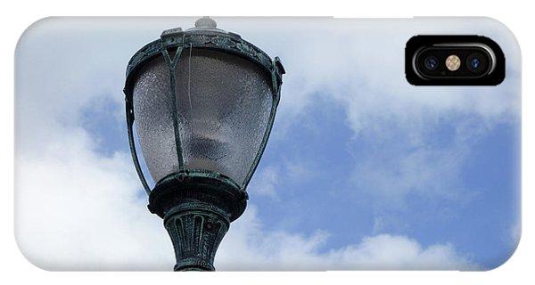 IPhone Case featuring the photograph Bahamian Streetlight by Wilko Van de Kamp