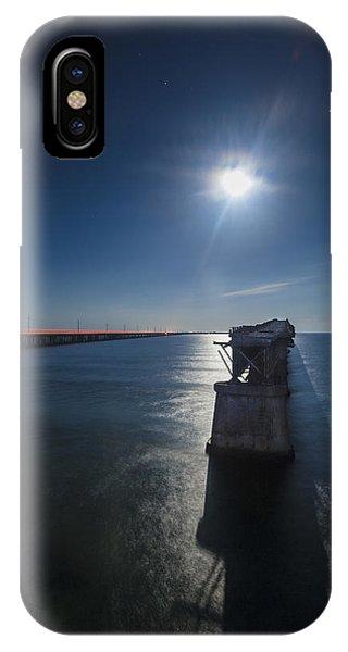 Bahia Honda By The Moonlight Phone Case by Dan Vidal