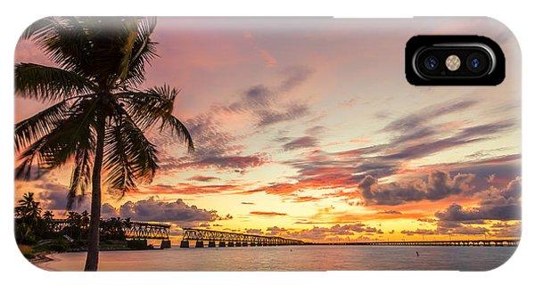 Bahia Honda State Park Sunset IPhone Case