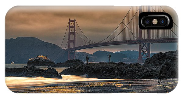 Baker Beach Golden Gate IPhone Case