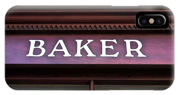 Small Business iPhone Case - Baker Shop by Tom Gowanlock