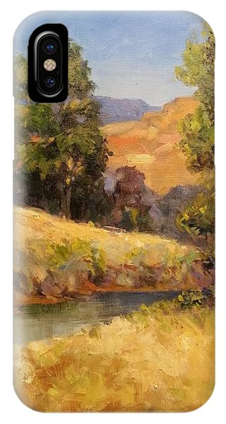 Bakesfield Creek Afternoon IPhone Case