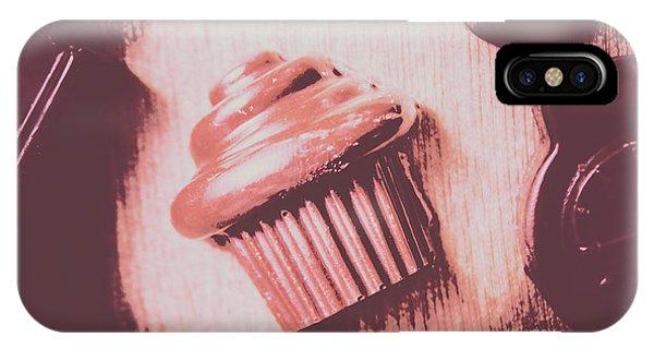 Baking Chocolate Cupcake IPhone Case