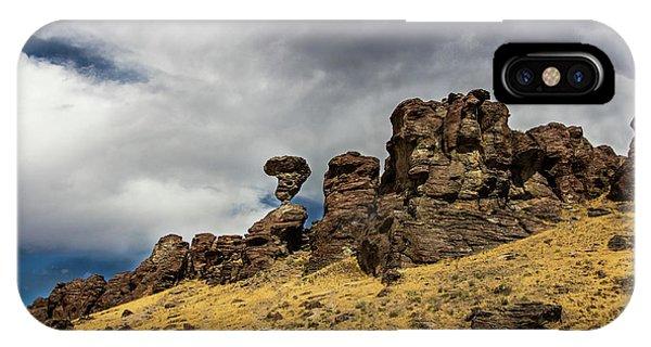Balanced Rock Idaho Journey Landscape Photography By Kaylyn Franks IPhone Case