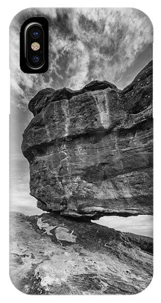 Balanced Rock Monochrome IPhone Case