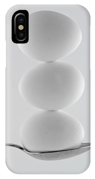 Balancing Eggs IPhone Case