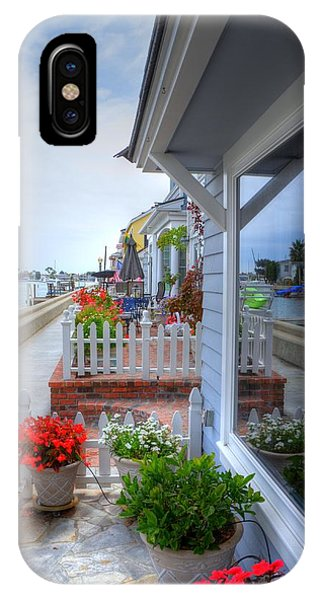 Balboa Island Beach House 2 IPhone Case
