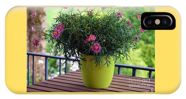 Balcony Flowers IPhone Case