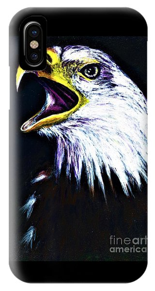 Bald Eagle - Francis -audubon IPhone Case