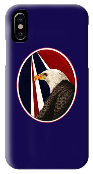 Bald Eagle T-shirt IPhone Case