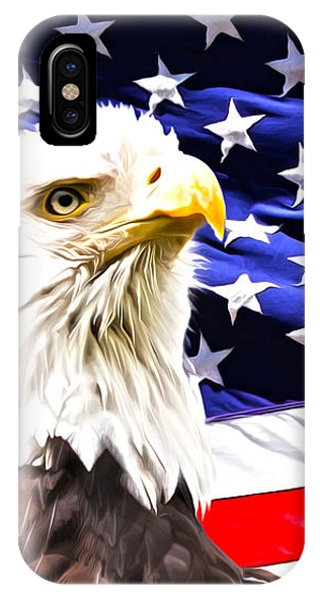 4th July iPhone Case - Bald Eagle by Michelle Murphy