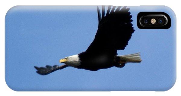 Bald Eagle Soaring High IPhone Case