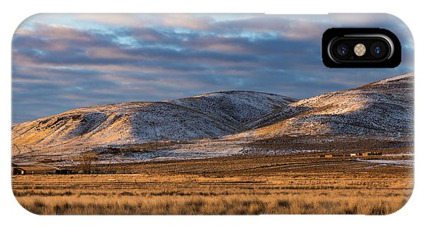 IPhone Case featuring the photograph Bald Mountain At Dawn 2 by The Couso Collection