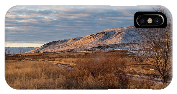IPhone Case featuring the photograph Bald Mountain At Dawn by The Couso Collection
