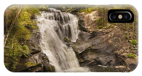 Bald River Falls Spring IPhone Case