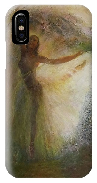 Ballet Dancer's Silhouette IPhone Case
