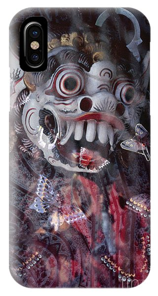 Bali Dance Theater Mask - Barong I IPhone Case