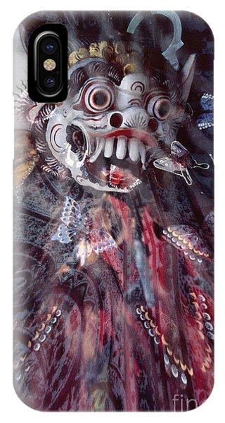 Bali Dance Theater Mask - Barong II IPhone Case