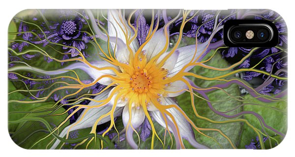 Contemporary Floral iPhone Case - Bali Dream Flower by Christopher Beikmann