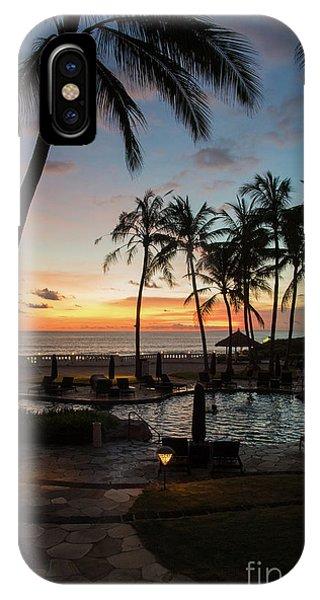 Bali Sunset IPhone Case