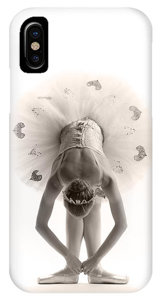 Ballerina iPhone Case - Ballerina Bent by Steve Williams