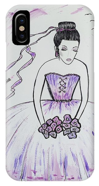 Ballerina Bride  IPhone Case