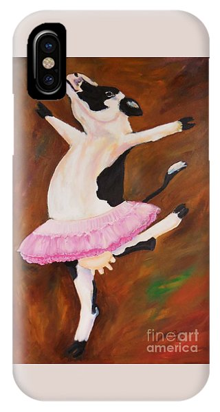 Ballerina Cow IPhone Case