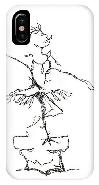 Ballerina- Cracked Pot IPhone Case