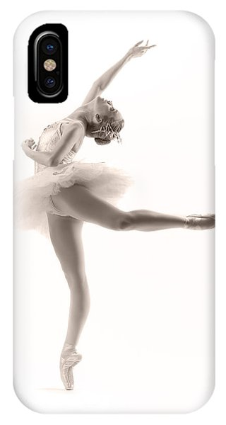 Ballerina iPhone Case - Ballerina by Steve Williams