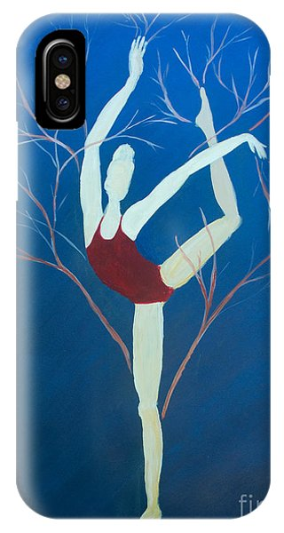 Ballerina Tree IPhone Case