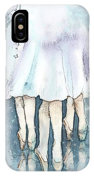 Ballerina iPhone Case - Ballerinas by Arline Wagner