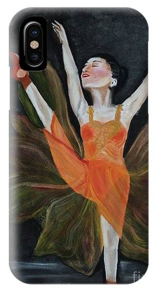 Ballet Dancer 1 IPhone Case