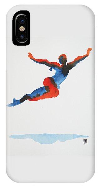 Ballet Dancer 1 Flying IPhone Case