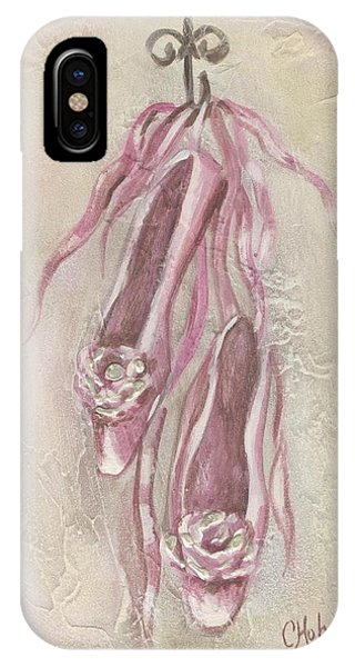 Ballet Shoes Painting IPhone Case