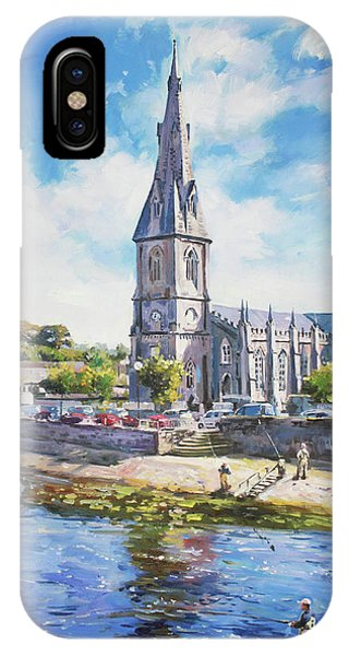 Ballina Cathedral On River Moy IPhone Case