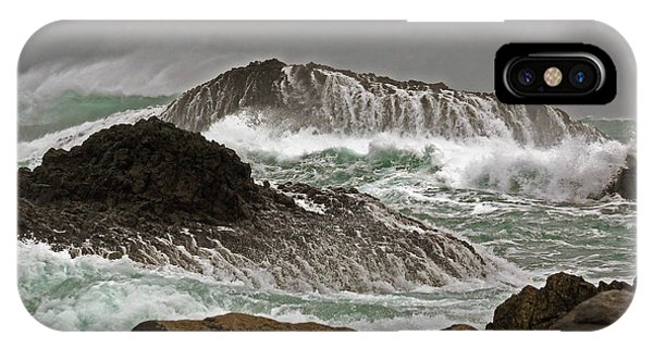 Ballintoy Harbour IPhone Case