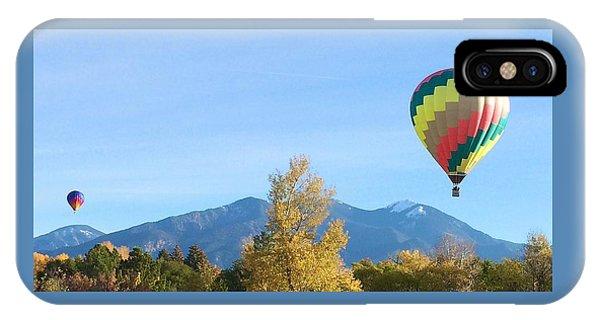 Ballons At Taos Mountain IPhone Case