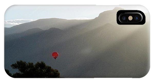 Balloon At Sunrise IPhone Case