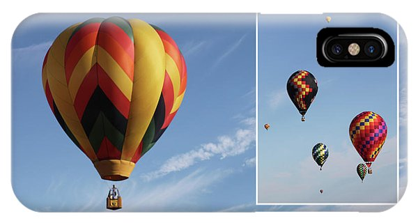 Balloon Festival Indianola, Iowa IPhone Case