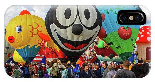 Balloon Fiesta Albuquerque II IPhone Case