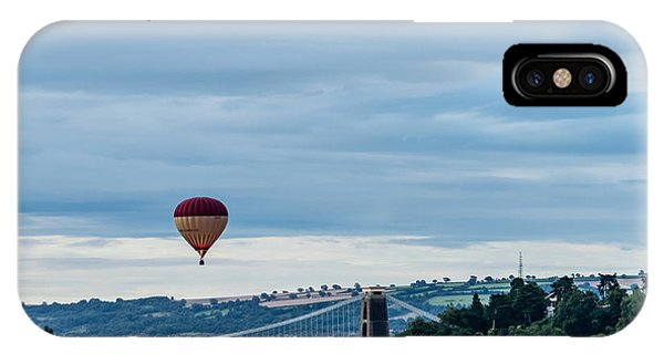 Balloon Fiesta Bristol A IPhone Case