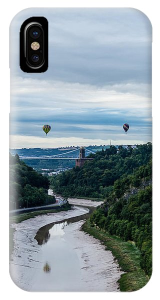 Balloon Fiesta Bristol B IPhone Case