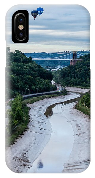 Balloon Fiesta Bristol D IPhone Case