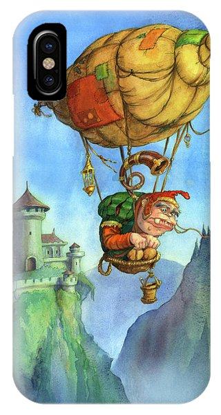 Balloon Ogre IPhone Case