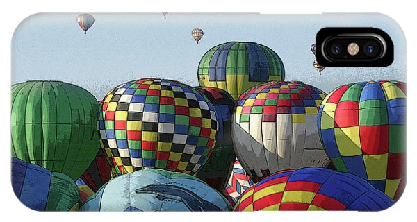 Balloon Traffic Jam IPhone Case