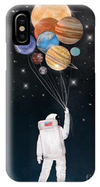 Solar System iPhone Case - Balloon Universe by Bri Buckley