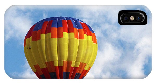 Balloons In The Cloud IPhone Case