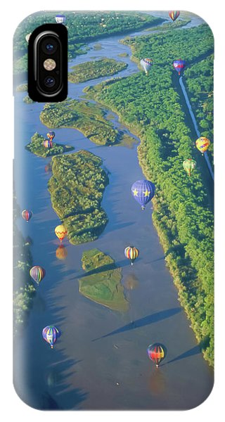 Balloons Over The Rio Grande IPhone Case
